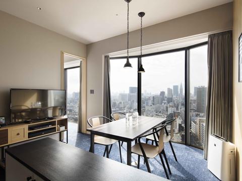 Mercury Suite Living Room